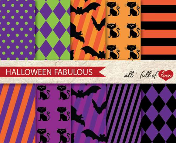 Sale Halloween Party Craft Paper Kit