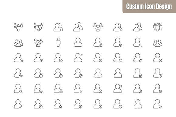 Silky Line Icon Set: user