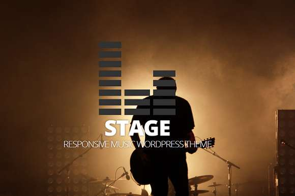 Stage – Responsive Music Theme