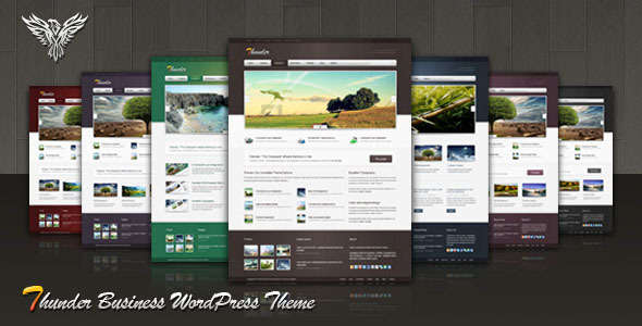 Thunder Corporate & Portfolio WordPress Theme