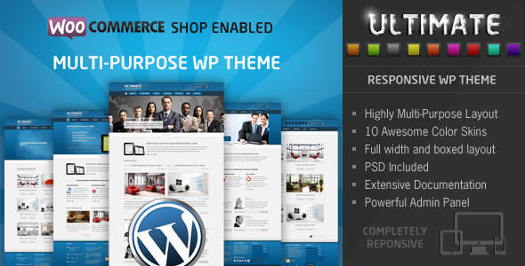 Ultimate - Responsive WP Theme
