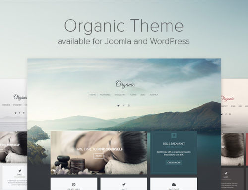 YOOtheme Releases 'Organic' Theme for WordPress & Joomla