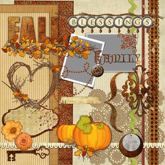 30-Fall Elements/Clipart Pack