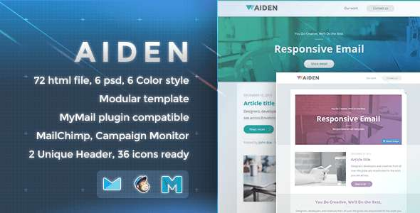 Aiden - Responsive Email Template