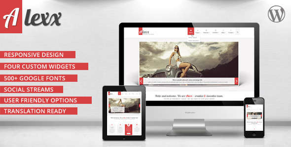 Alexx - Multipurpose WordPress Theme