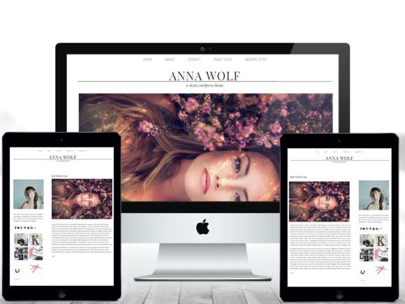 Anna - Responsive WordPress Theme