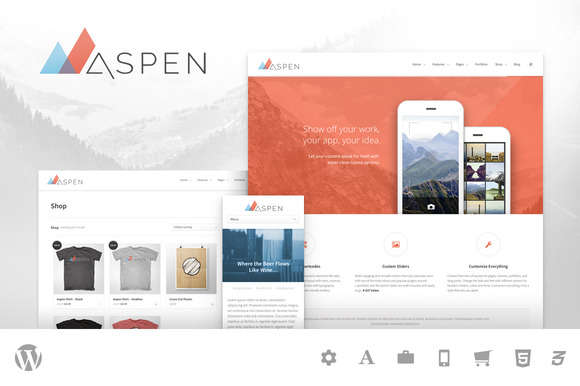 Aspen - Multipurpose WordPress Theme