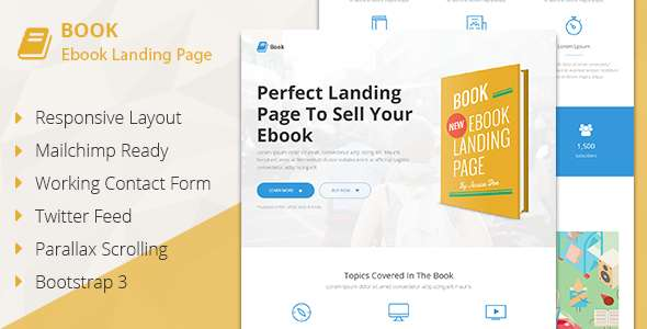 60 Of The Best Parallax Responsive HTML Landing Pages