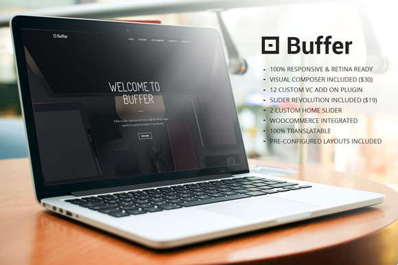 Buffer Multipurpose WordPress Theme