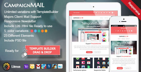 CampaignMail - Responsive E-mail Template