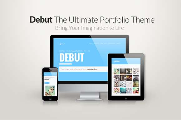 Debut - The Ultimate Portfolio Theme