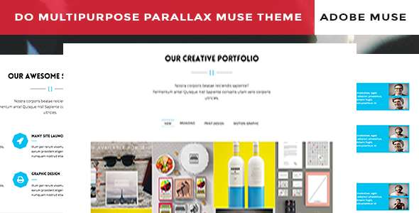 Do Corporate Parallax Muse Template