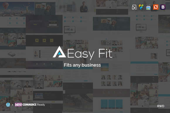 EasyFit Multipurpose WordPress Theme