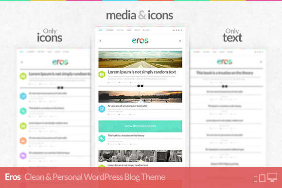 Eros - Responsive WordPress Blog