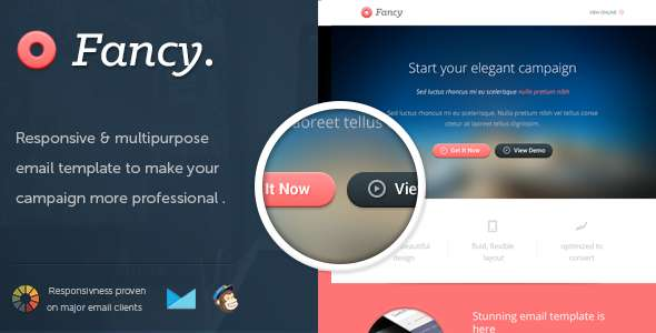 FancyMail - Responsive Email Template