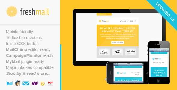 Freshmail Responsive Email Template