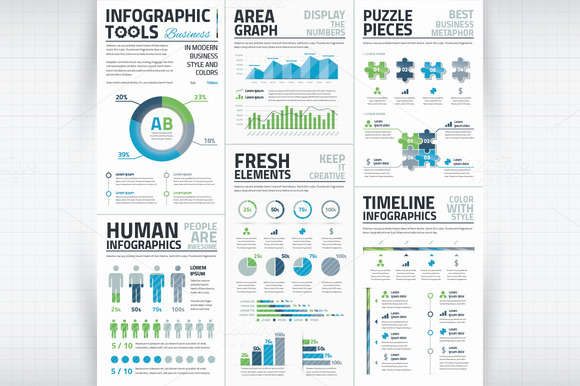 Infographic Business Vector Elements