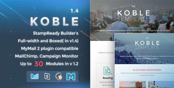 Koble - Responsive Email Template