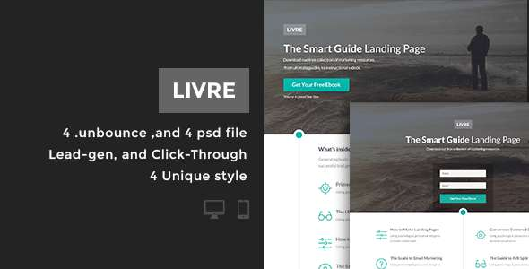 Livre - Bundle Unbounce pages