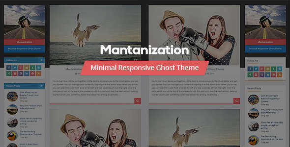 29 of the Best Responsive Parallax 'Ghost' Themes | Buildify