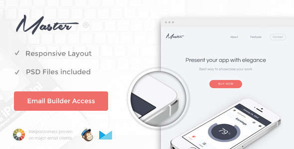 Master - Responsive Email + Themebuilder Access