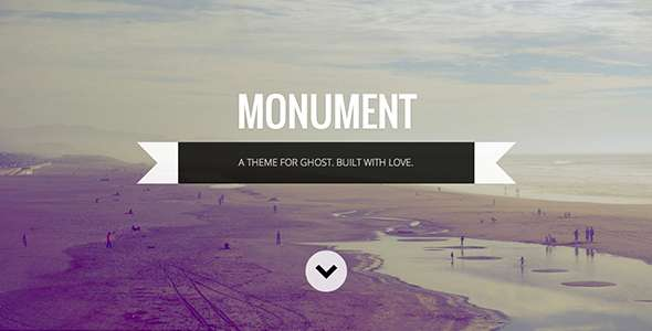 Monument: Responsive Multipurpose Ghost Theme