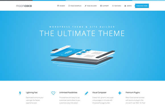 MoonCoco - WordPress Theme