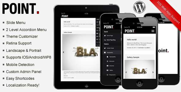 Point Premium Modern Mobile Theme