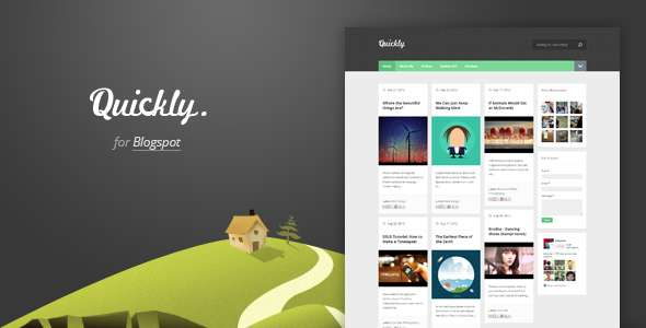 Quickly - Responsive Blogger Template