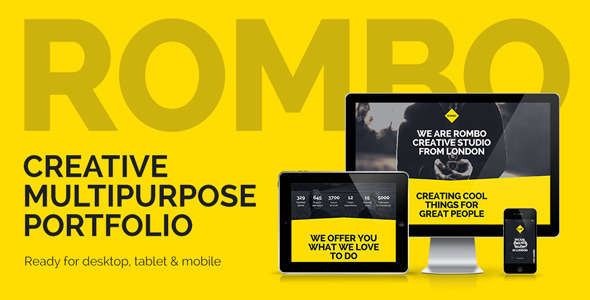 Rombo - Multipurpose Portfolio Muse Template