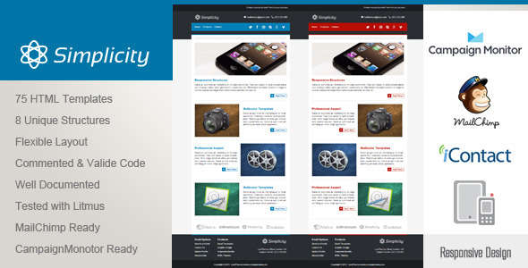 Simplicity - Responsive Email Template