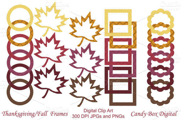 Thanksgiving/Autumn Digital Frames