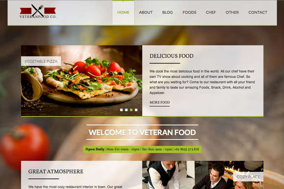 Veteranfood WordPress