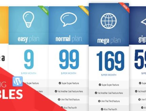 Lets Compare: 8 of the Best WordPress Pricing Table Plugins