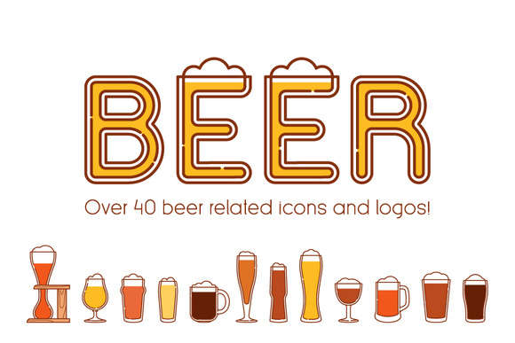 Beers, glasses and logos vol.2