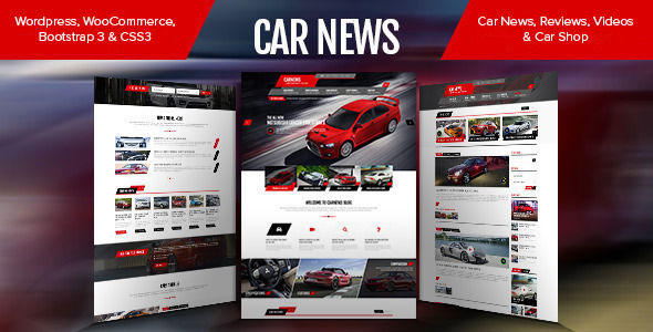 Car News by Pixarwpthemes is a news magazine WordPress theme with video support which features support for RTL languages, fully responsive layouts, search engine optimization, WooCommerce integration, Bootstrap framework utilization, is great for your personal site and a grid layout.