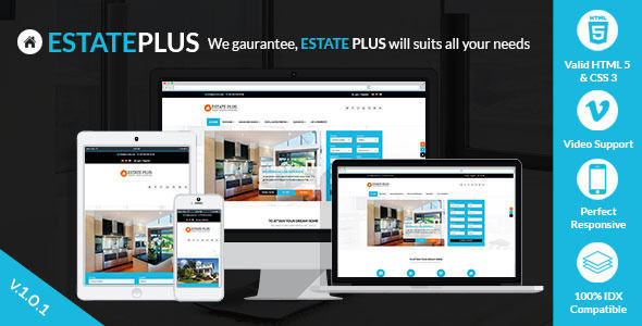 Estate Plus by Shinetheme is a niche WordPress theme with frontend submission functionality which features Retina display support, parallax elements, Mega Menu, fully responsive layouts, search engine optimization, Revolution Slider and Bootstrap framework utilization.
