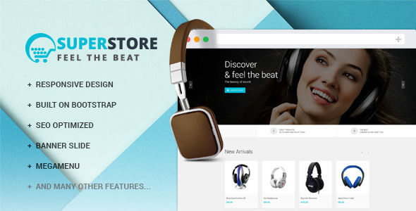 Leo Material Store by Leo-theme is a Shopify theme which features support for RTL languages, Mega Menu, fully responsive layouts, search engine optimization, Bootstrap framework utilization and  a grid layout.