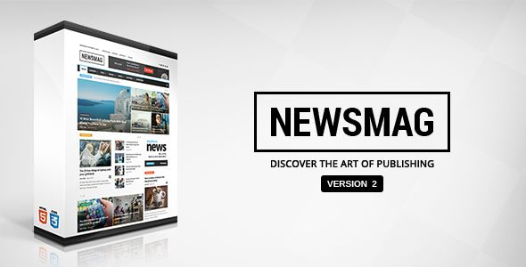 Newsmag by TagDiv is a news magazine WordPress theme with video support which features parallax elements, support for RTL languages, Mega Menu, fully responsive layouts, search engine optimization, Google Fonts support, Revolution Slider, WooCommerce integration, clean design, magazine style layouts, is great for your personal site, a grid layout and minimal design.