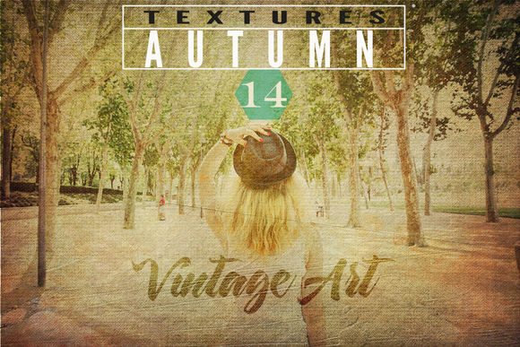 Autumn Textures by SZeta is available from CreativeMarket for $13.