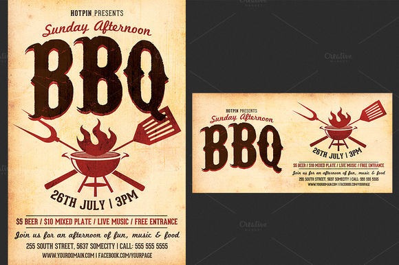 Barbecue by Hotpin is available from CreativeMarket for $7.