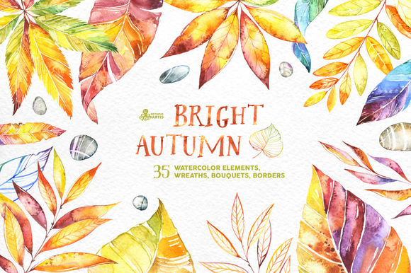 Bright Autumn by OctopusArtis is available from CreativeMarket for $14.