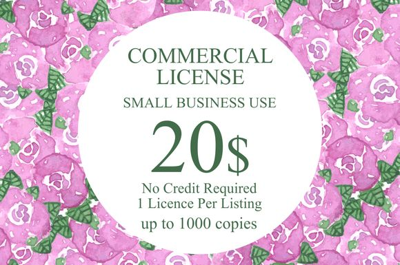 Commercial License Small Business by Pdeasyprint is available from CreativeMarket for $20.