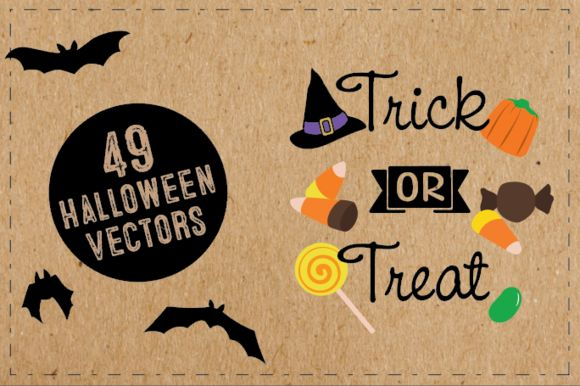 Halloween Vector Illustrations by GraphicFox is available from CreativeMarket for $12.