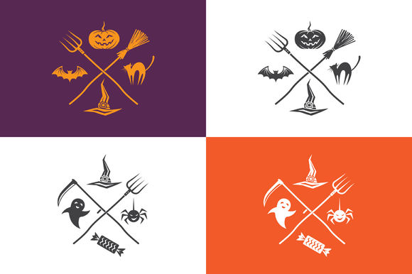 Halloween Emblems by Valeri_si is available from CreativeMarket for $4.