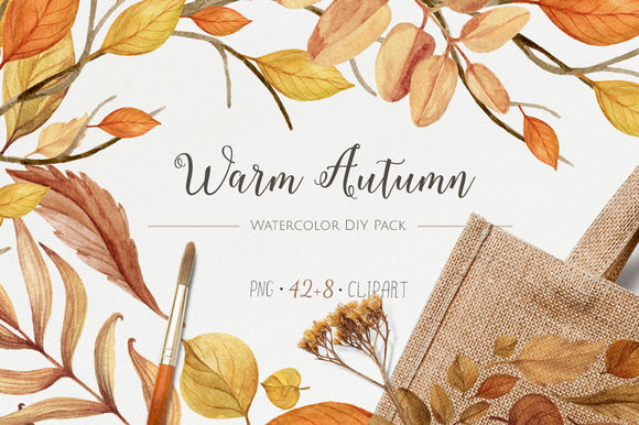 Warm Autumn by NataliVA is available from CreativeMarket for $18.