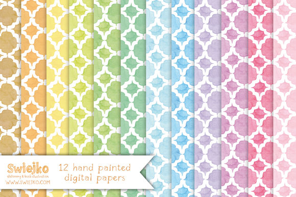 Watercolor Paper by Swiejko is available from CreativeMarket for $6.