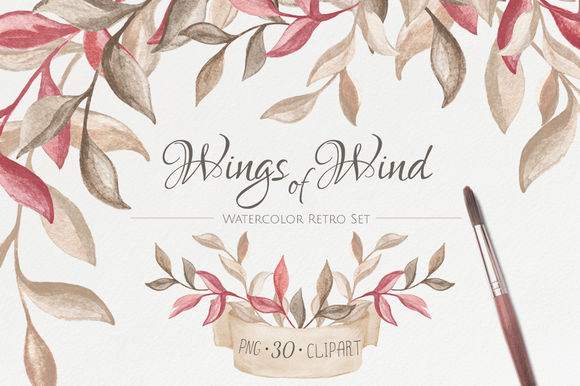 Wings Of Wind by NataliVA is available from CreativeMarket for $10.