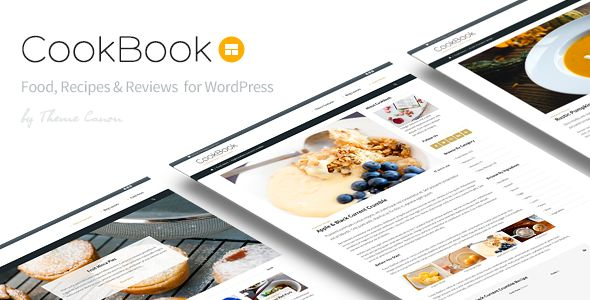 CookBook by ThemeCanon is a news magazine WordPress theme which features Retina display support, one page layouts, fully responsive layouts, search engine optimization, Google Fonts support, Revolution Slider, WooCommerce integration, clean design, magazine style layouts, blogging related layouts and optimizations and masonry post layouts.