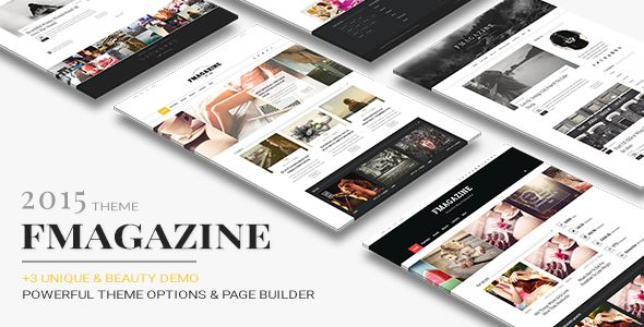 F by Theme-Ruby is a news magazine WordPress theme which features Retina display support, parallax elements, support for RTL languages, Mega Menu, fully responsive layouts, search engine optimization, Google Fonts support, Revolution Slider, WooCommerce integration, clean design, Bootstrap framework utilization, magazine style layouts, flat design aesthetics and minimal design.